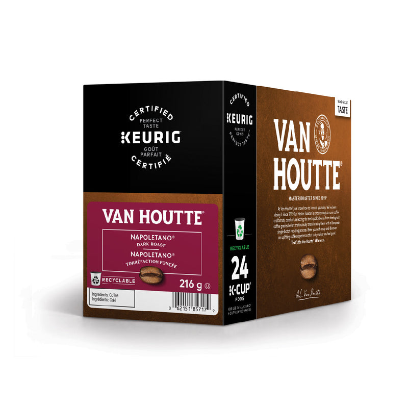 Van Houtte Napoletano K-Cup® Recyclable Pods (Box of 24)