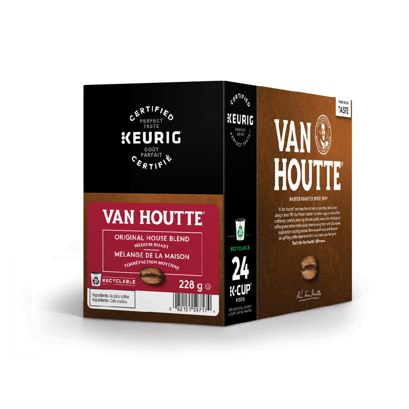 Van Houtte Original House Blend K-Cup® Recyclable Pods (Box of 24)
