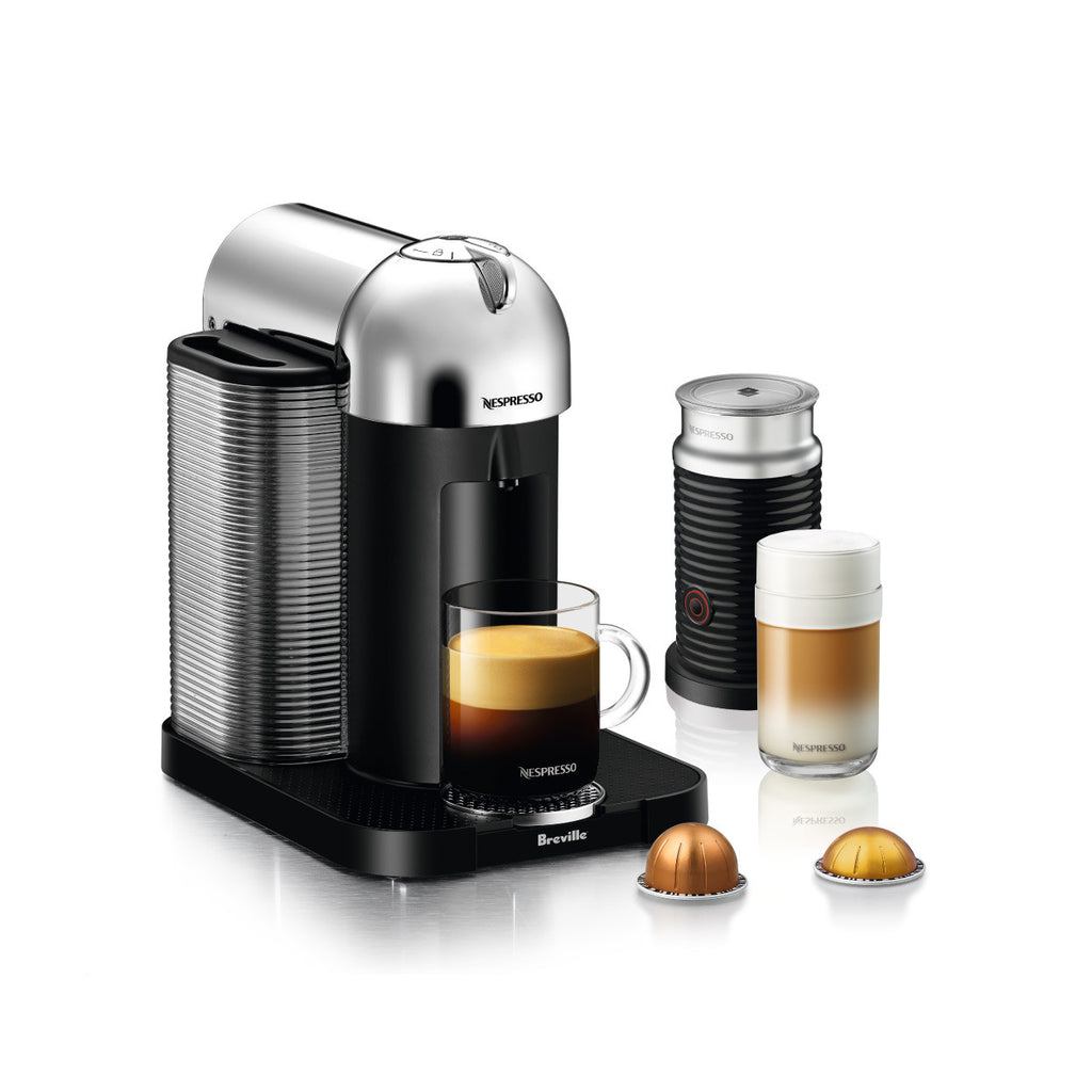 * OFFER * Nespresso by Breville Vertuo Brewer with Aeroccino 3 in Chrome