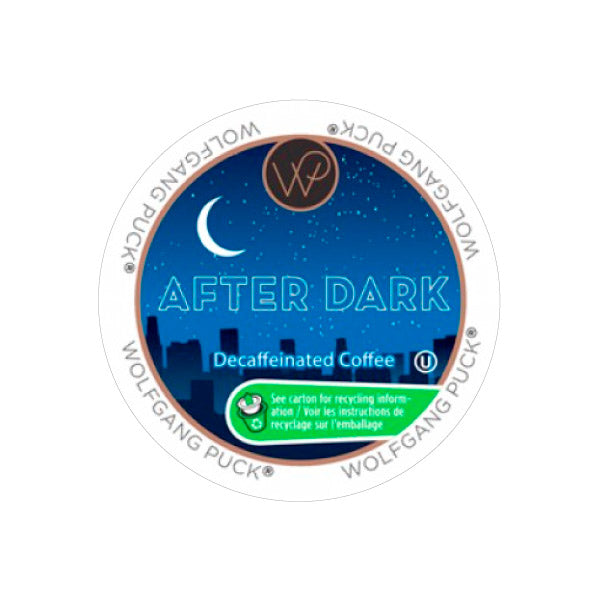 Wolfgang Puck After Dark Decaf Single Serve Coffee Pods (Case of 96)