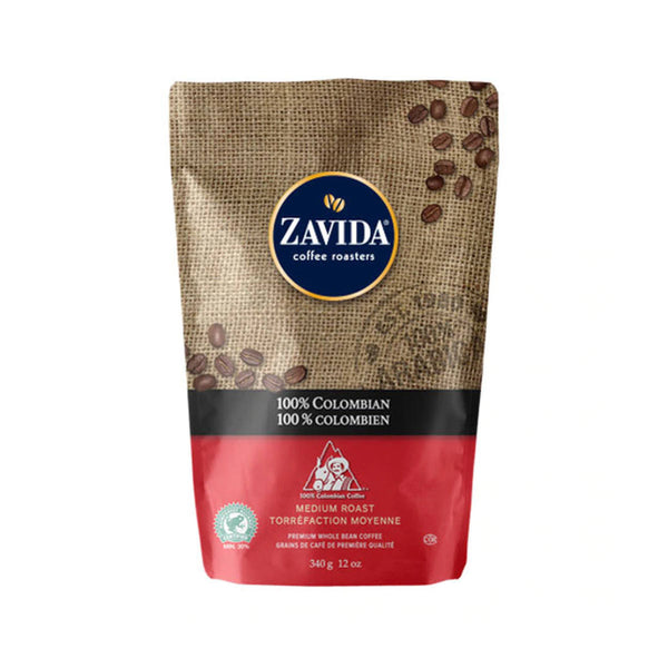 Zavida 100% Colombian Whole Bean Coffee (12 oz.)