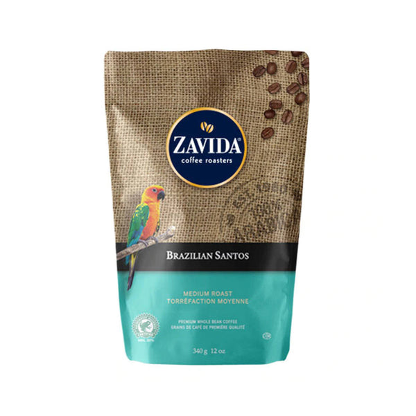 Zavida Brazilian Santos Whole Bean Coffee (12 oz.)