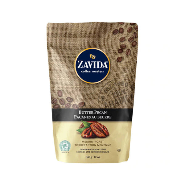 Zavida Butter Pecan Whole Bean Coffee (12 oz.)