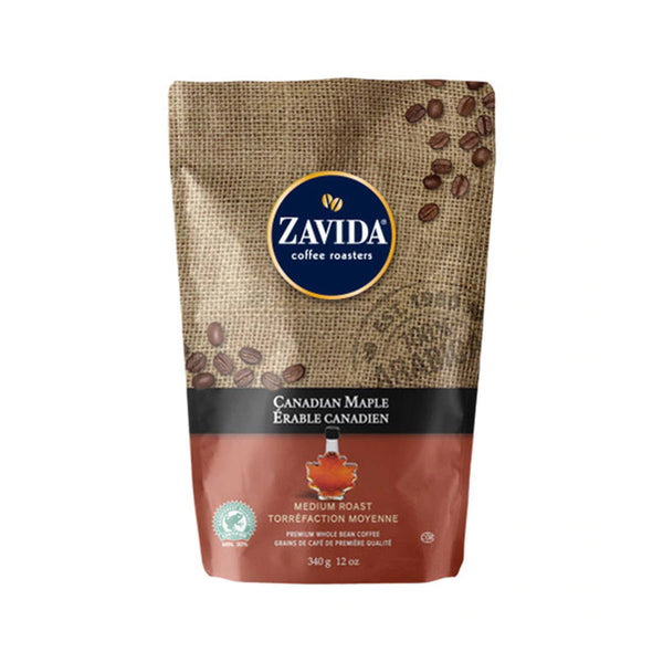 Zavida Canadian Maple Whole Bean Coffee (12 oz.)