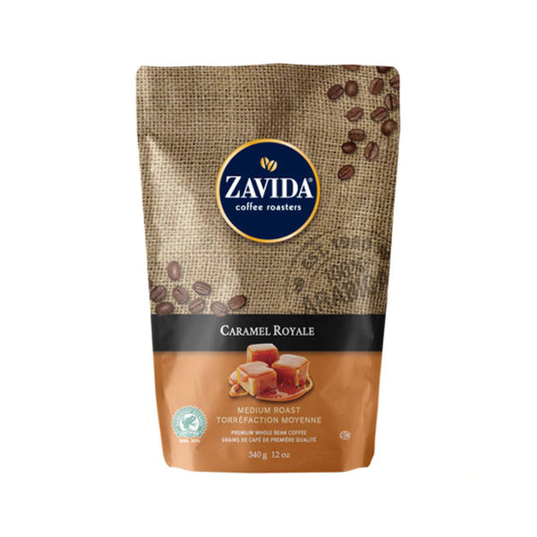 Zavida Caramel Royale Whole Bean Coffee (12 oz.)