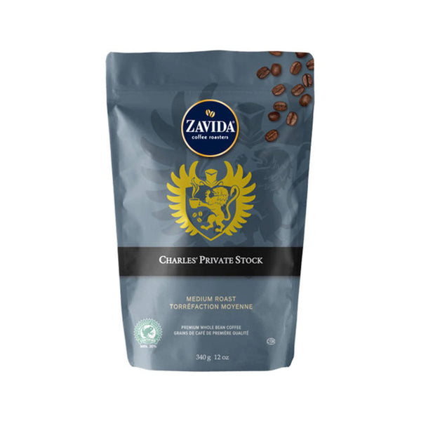 Zavida Charles' Private Stock Whole Bean Coffee (12 oz.)