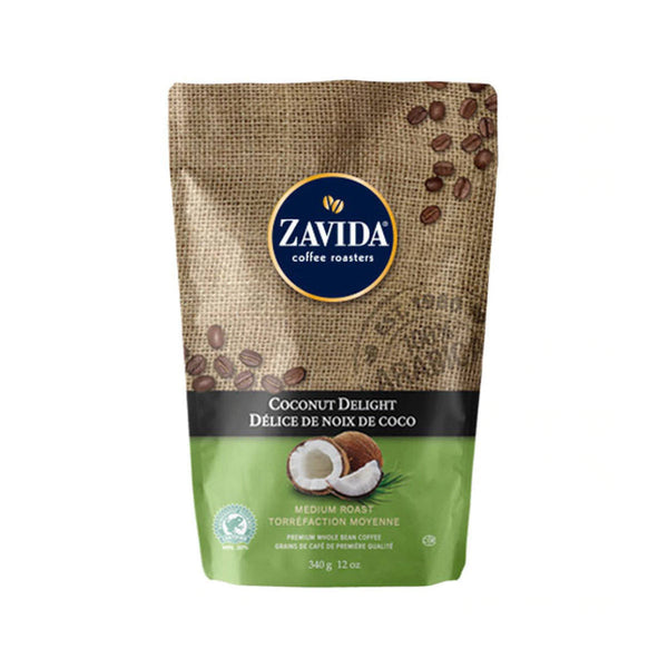 Zavida Coconut Delight Whole Bean Coffee (12 oz.)