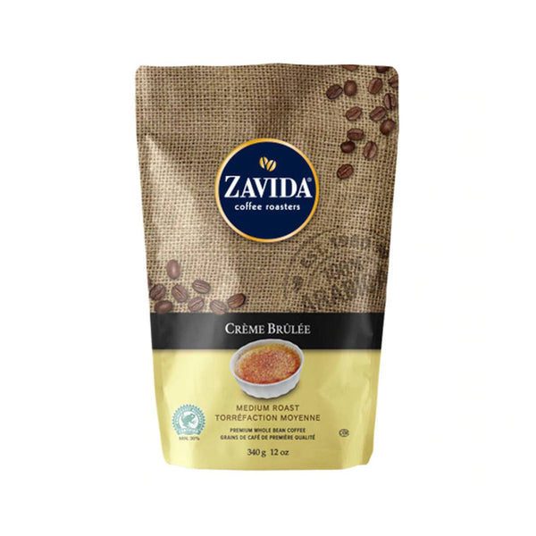 Zavida Creme Brulee Whole Bean Coffee (12 oz.)