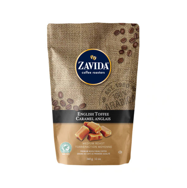 Zavida English Toffee Whole Bean Coffee (12 oz.)