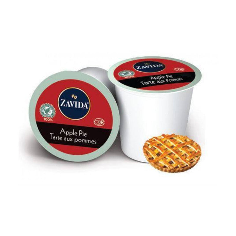 Zavida Apple Pie Single-Serve Coffee Pods (Case of 96)