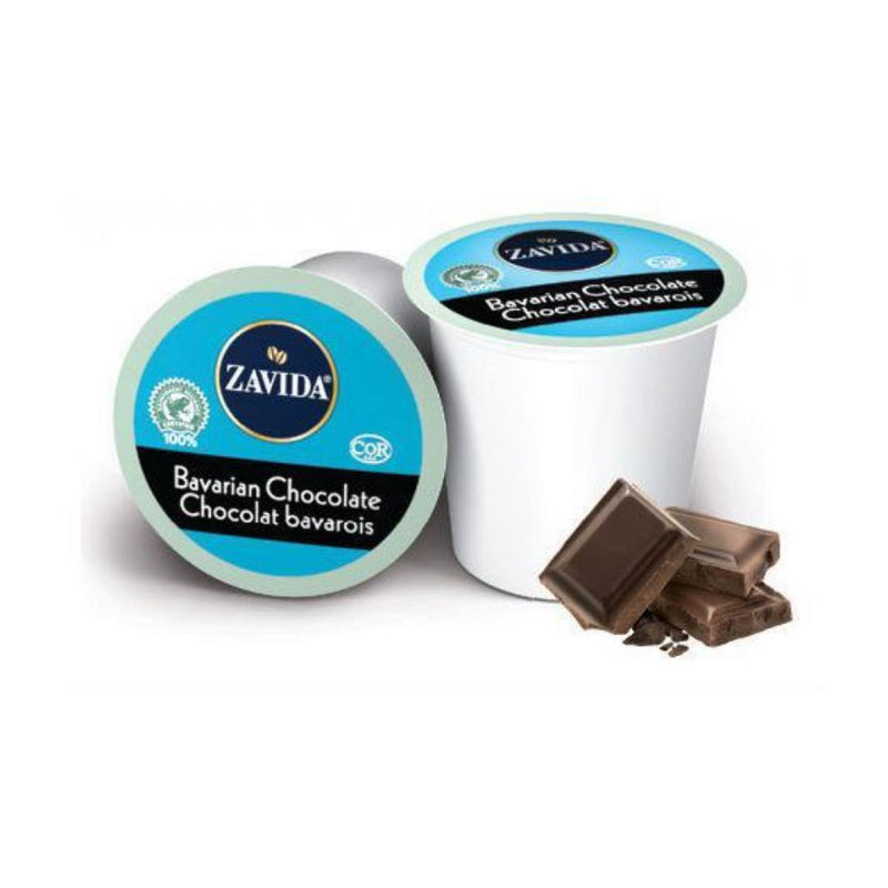 Zavida Bavarian Chocolate Single-Serve Coffee Pods (Case of 96)