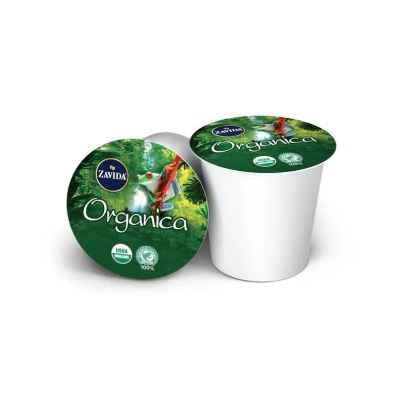 Zavida Organica Medium Roast Single-Serve Coffee Pods (Case of 96)