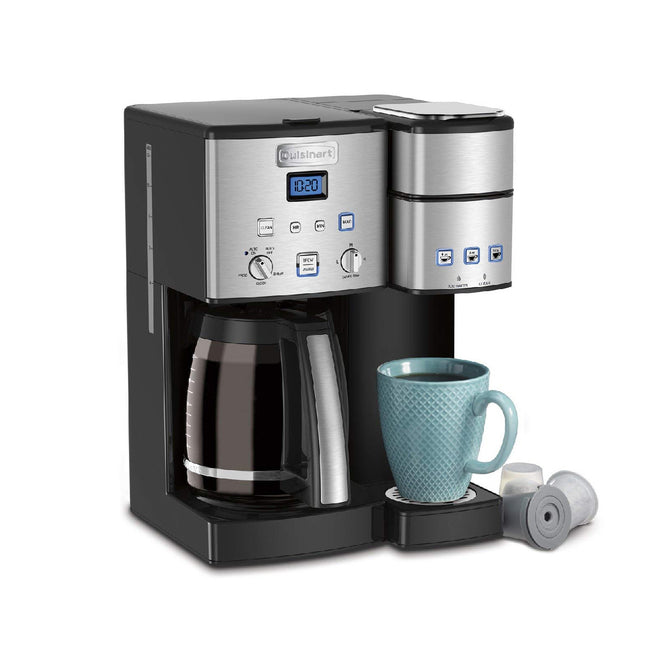 Cuisinart Coffee Center™ 12-Cup Coffeemaker & Single-Serve Brewer