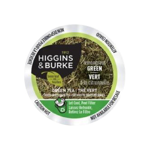 Higgins & Burke™ Lemongrass Green Tea Single Serve Pods (Case of 96)