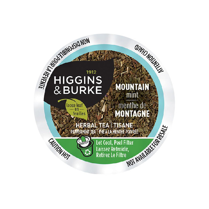 Higgins & Burke™ Peppermint (Mountain Mint) Single Serve Pods (Case of 96)