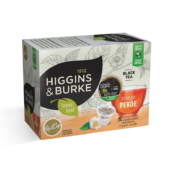 Higgins & Burke™ Orange Pekoe Single Serve Pods (Box of 24)