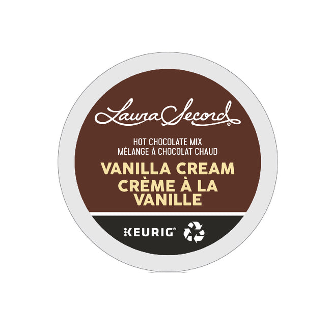 Laura Secord Vanilla Cream Hot Chocolate Mix K-Cup® Pods (Case of 96)