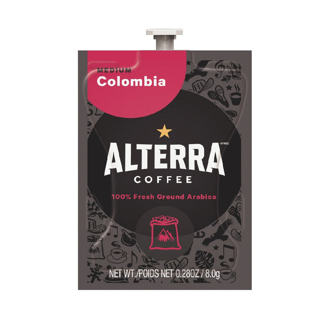 Flavia Alterra Colombia Medium Roast Coffee Freshpacks (Case of 100)