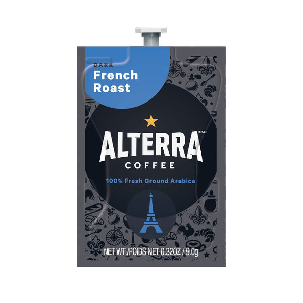Flavia Alterra French Roast Dark Roast Coffee Freshpacks (Case of 100)