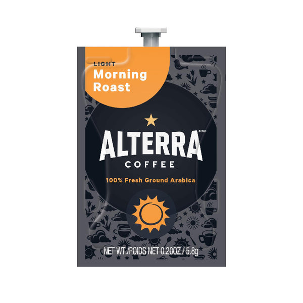 Flavia Alterra Morning Roast Light Roast Coffee Freshpacks (Case of 100)