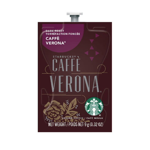 Flavia Starbucks Caffè Verona Dark Roast Coffee Freshpacks (Case of 80)