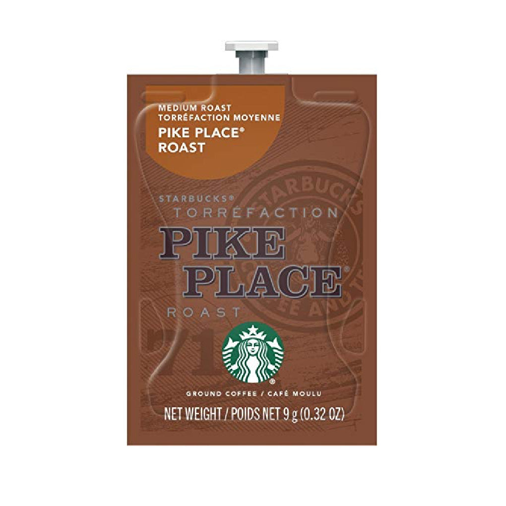 Flavia Starbucks Pike Place Medium Roast Coffee Freshpacks (Case of 80)
