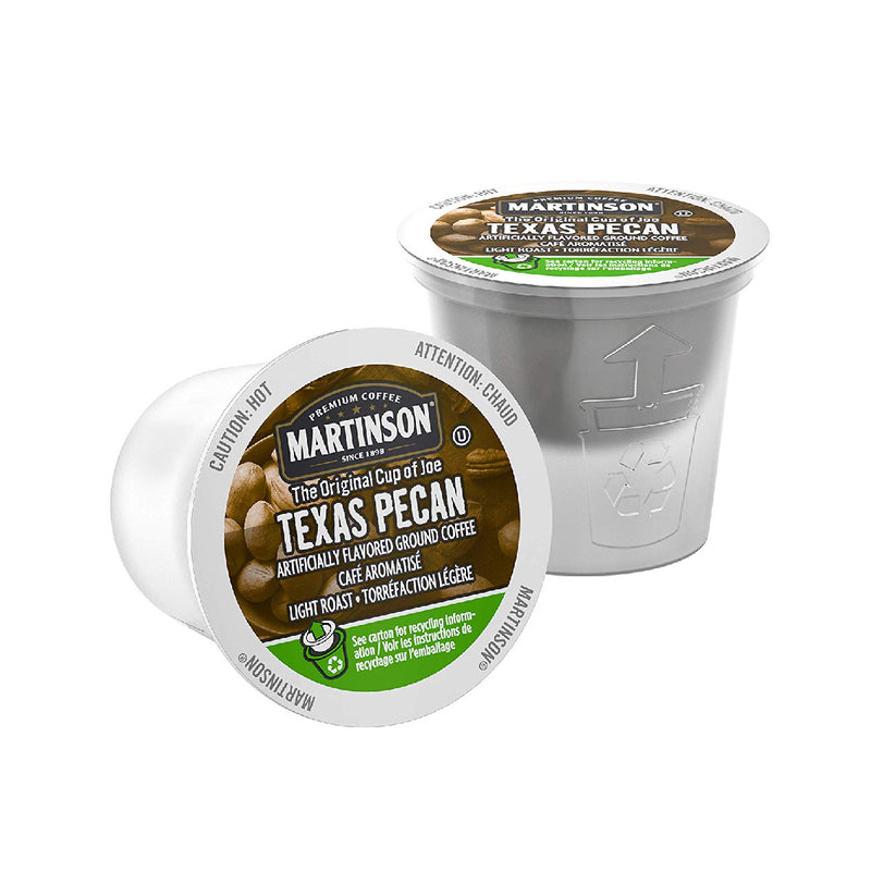 Martinson Coffee Texas Pecan Single Serve Pods (Case of 96)