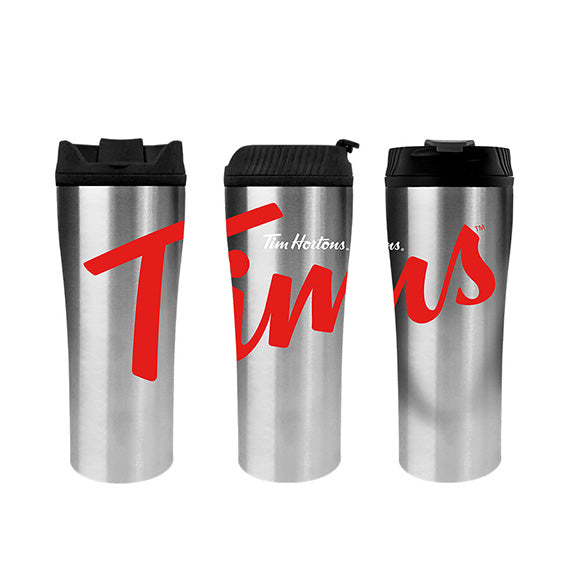 Tim Hortons 16oz Stainless Steel Travel Tumbler