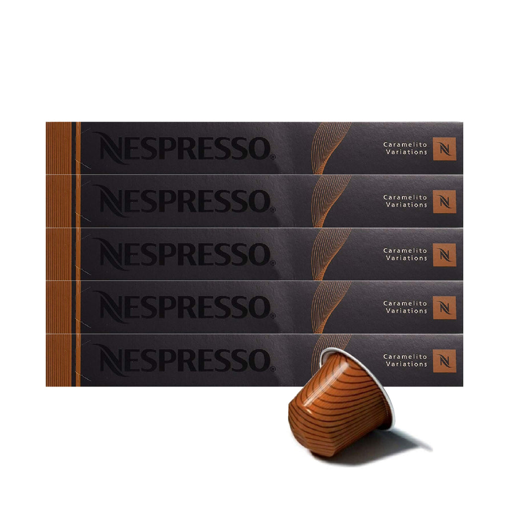 Nespresso® Caramelito Original Coffee Capsules (Pack of 50)