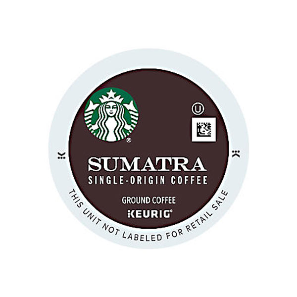 Starbucks - Sumatra (Box of 24 K-Cup® Pods)
