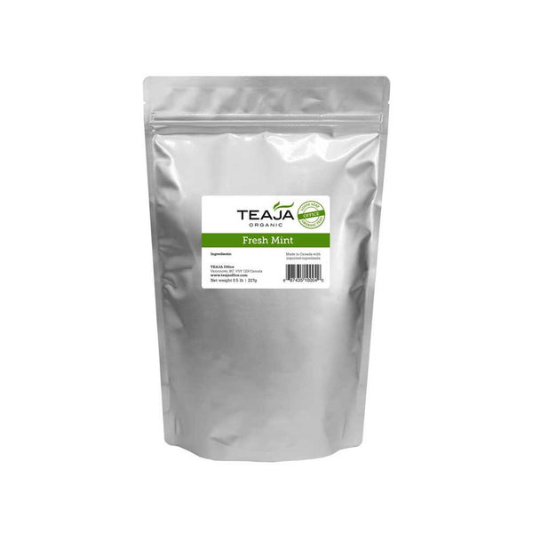 Teaja Fresh Mint Organic Loose Leaf Tea (0.5lb)