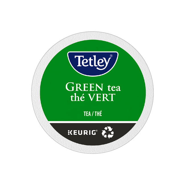 Tetley Pure Green Tea K-Cup® Recyclable Pods (Box of 24)