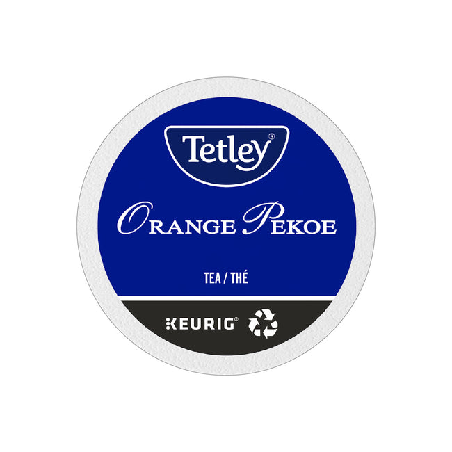 Tetley® Orange Pekoe Tea K-Cup® Recyclable Pods (Case of 96)