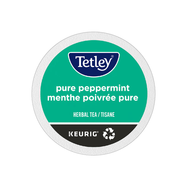 Tetley Pure Peppermint Tea K-Cup® Recyclable Pods (Case of 96)