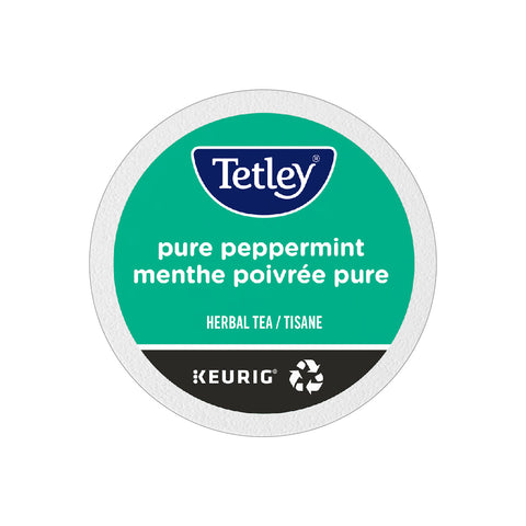 Tetley Pure Peppermint Tea K-Cup® Pods (Case of 96)