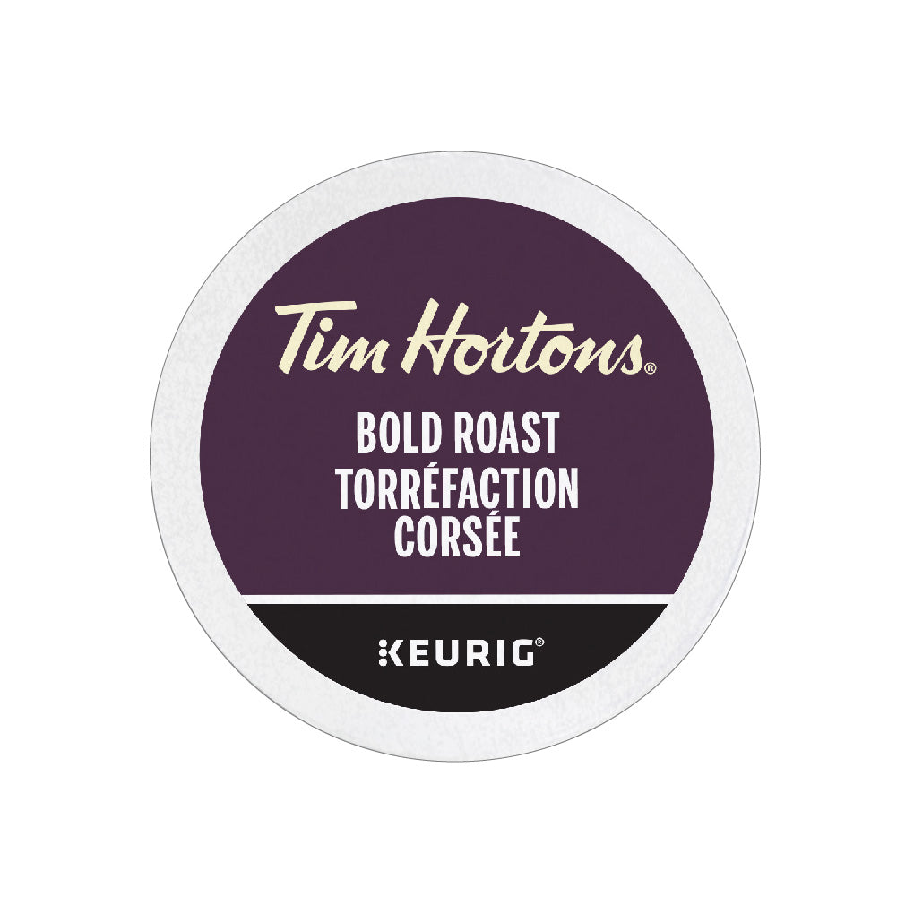 Tim Hortons Bold Roast K-Cup® Pods (Box of 24)