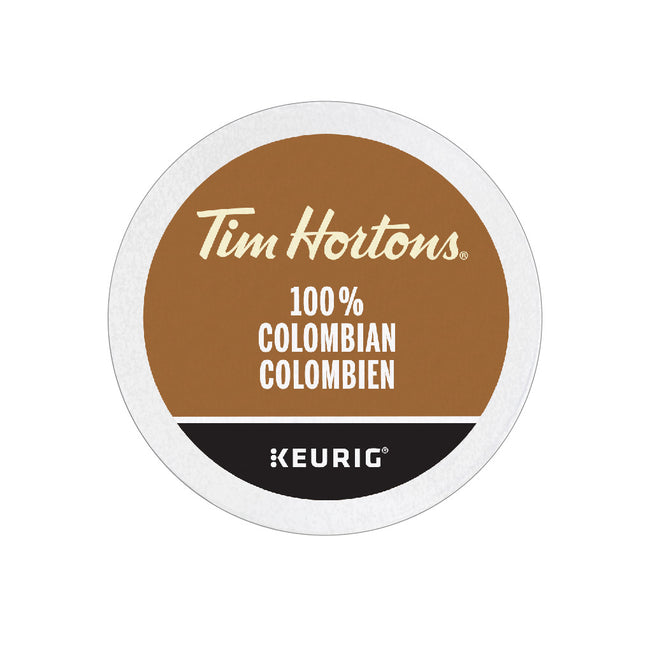 Tim Hortons 100% Colombian K-Cup® Pods (Case of 96)
