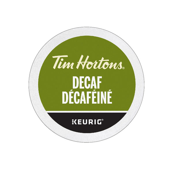 Tim Hortons Decaf K-Cup® Pods (Case of 96)