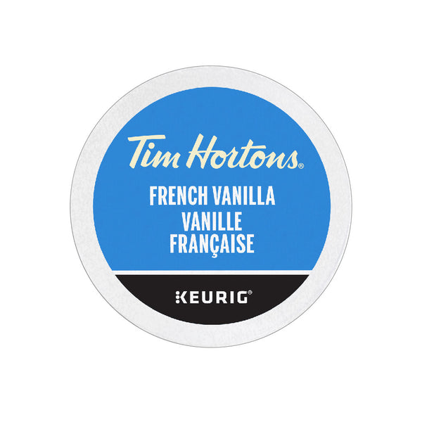 Tim Hortons French Vanilla Coffee K-Cup® Pods (Case of 96)