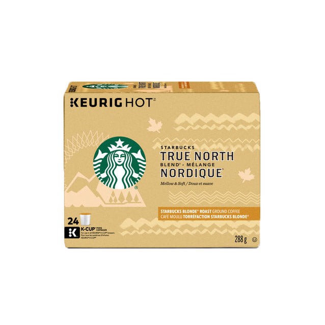 Starbucks True North - Box of 24 K-Cup® Pods