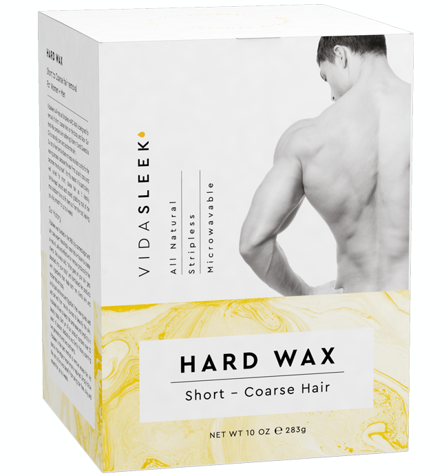 Hard Wax Hair Removal Kit Full Body Vidasleek