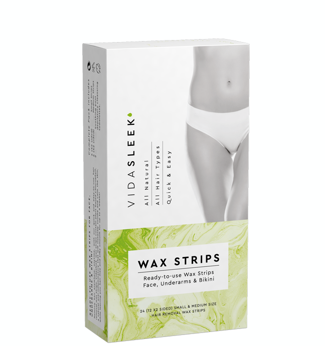 Hair Removal Wax Strips Face Underarms Bikini Vidasleek
