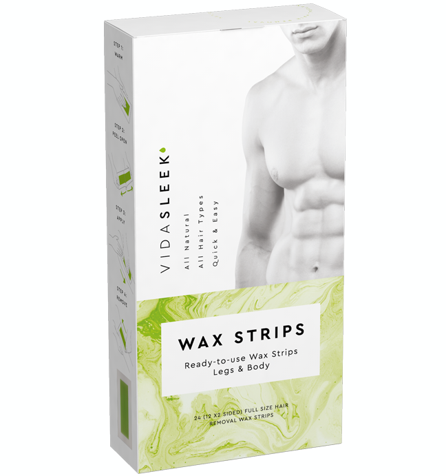Hair Removal Wax Strips For Legs Body Vidasleek