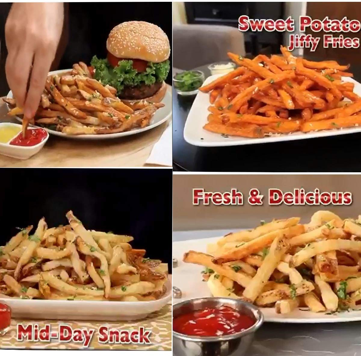 Red-Instant Perfect Fries Maker | GoInsShop
