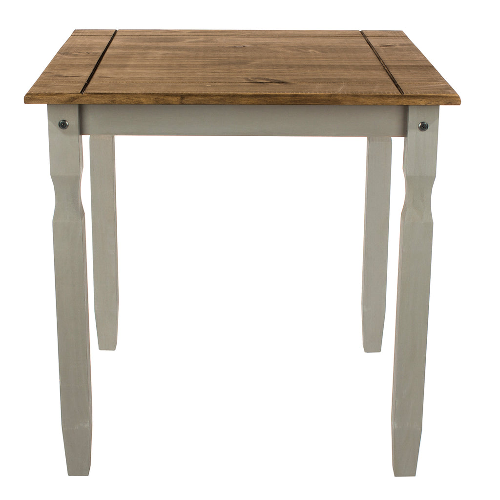 Wood Dining Table Corona Gray | Furniture Dash