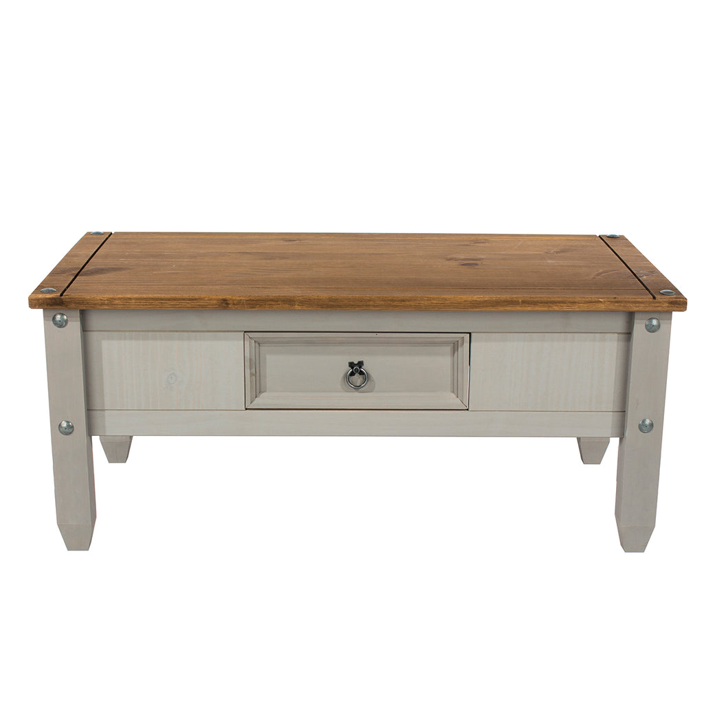 Wood Coffee Table Corona Gray | Furniture Dash