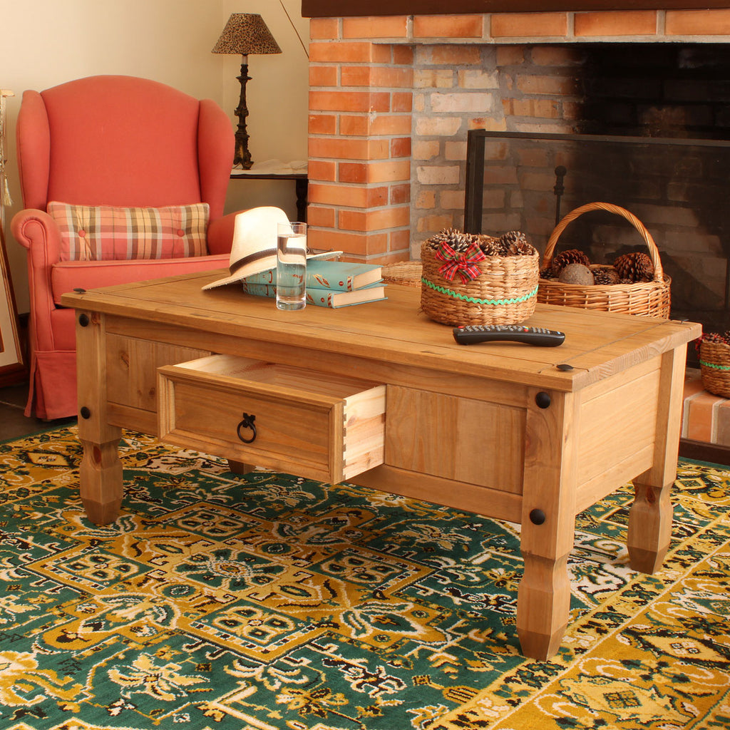 Wood Coffee Table Corona | Furniture Dash
