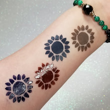 Load image into Gallery viewer, Suns of Flowers - Pop Swatch || Lippie EyeShadow Stencil
