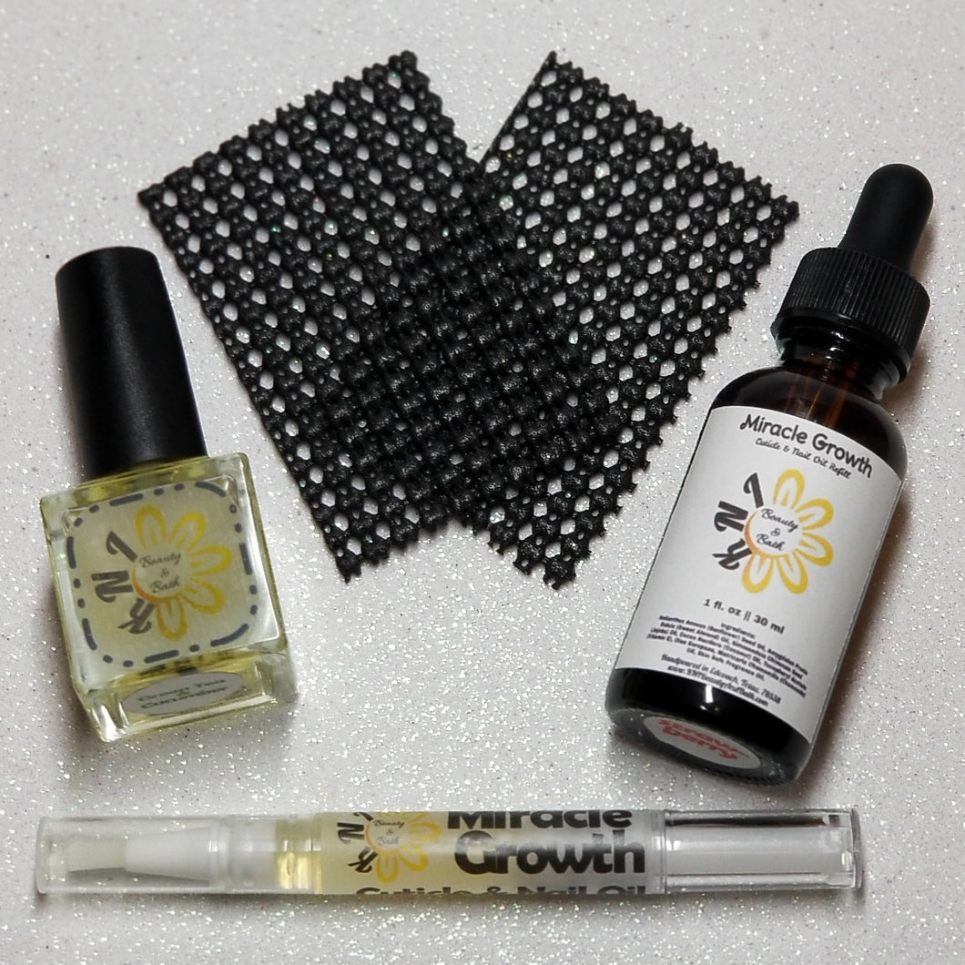 The Bloomer ~ Nourishing Refill Kit Bundle || Hydrating Oil Pack