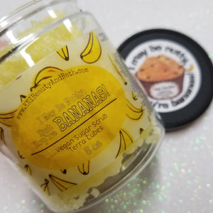 I May Be Nutty, but You're BANANAS! - Terra Cubes || Lathering Scrub || Cuticle & Body Wash